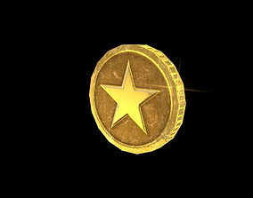 3D model Coin Power Up