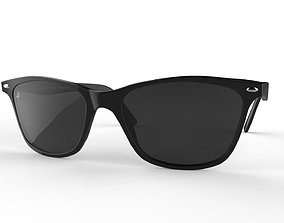Sunglass Wayfarer Vincent Chase 3D model