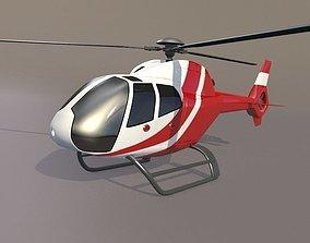 3D Eurocopter Colibri EC-120B civil helicopter