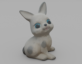 Hare Garden Sculpture 3D printable model