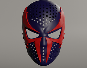 3D print model Spiderman 2099 face shell