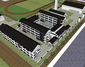 Region-City-School 108 3D model