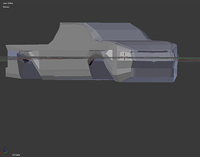 3D model Dodge Sheel