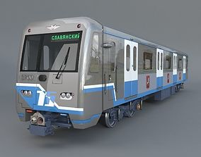 3D model Subway train 81-760