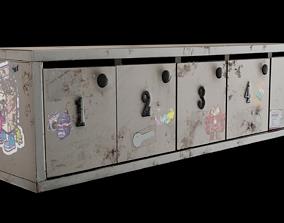 Mail Box urban 3D model VR / AR ready