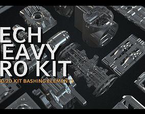 Tech Heavy Pro Kit - 400 plus 2d and 3d