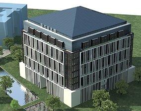 Office Building tree 3D model