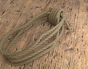 COILED ROPE 3D model