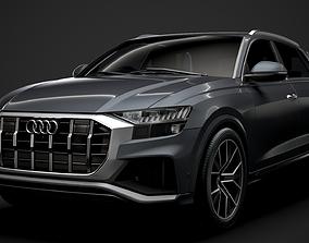 3D model Audi SQ8 TDI 2020