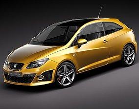 Seat Ibiza Cupra 2011 3D model