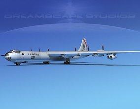 Convair B-36D Peacemaker V04 3D model