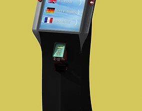 3D model Vending terminal