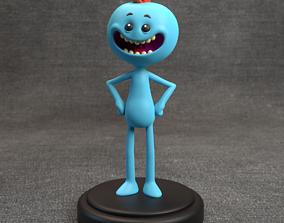 3D print model Mr Meeseeks - Rick and Morty
