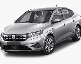 Dacia Logan 2021 3D