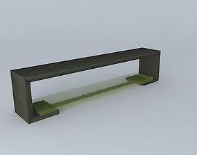 Bench Resin 3D model