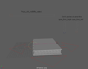 openable book 3D