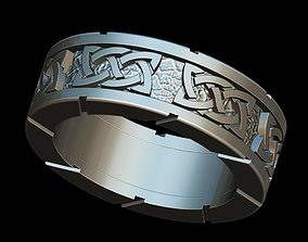 3D print model rings Celtic ring
