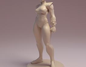 Chun Li Fan art model for 3d printing