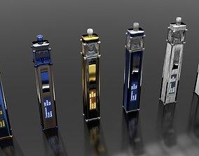 3D Luxury vape collection