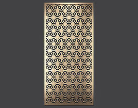 modern 3D model Decorative panel 340
