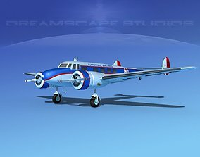 3D Lockheed L10 Electra National
