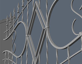 fences 3D Fence for exterior visualization