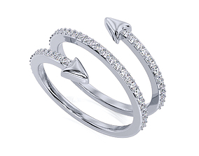 Ring R F 0109 3D printable model
