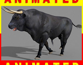 Ultimate Bull - 3d model cattle animated