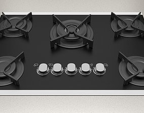 Cooktop kitchen-appliance 3D