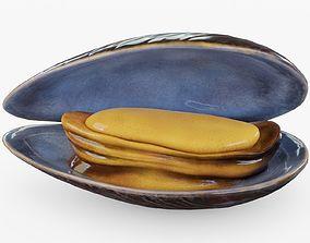 Mussel 3D asset