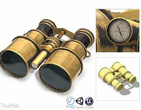 Vintage Binocular 3D model