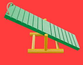 3D model Small hamster ramp