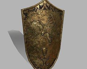 3D model game-ready Shield