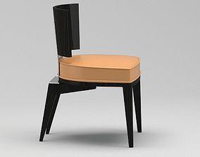 nickel 3D Black Chair