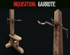 3D asset Inquisition - Garrote