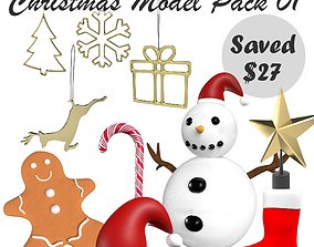 Christmas Model Pack 01 game-ready