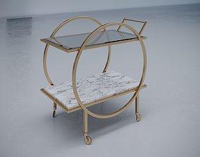 union lighting Artemis bar Cart 3D