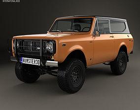 3D model International Scout II 1976