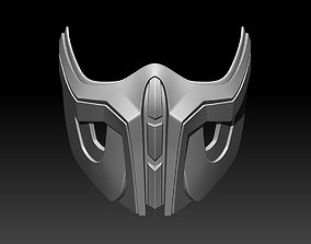 Sub Zero mask for cosplay 3D printable model 4