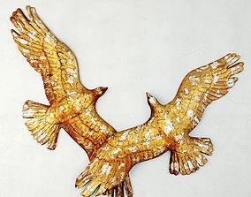 3D Midcentury Bird Sculpture