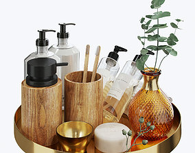 3D model Zara Home decorative set for the bathroom