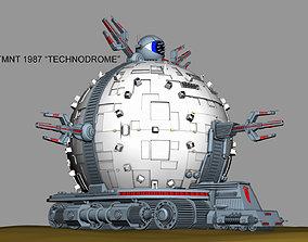 TMNT TECHNODROME 1987 3D