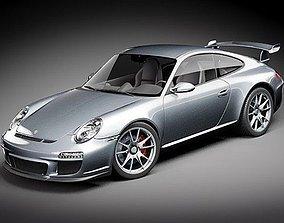 Porshe 911GT 3D model