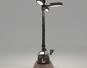 Blade Runner Street Lamp 3D model