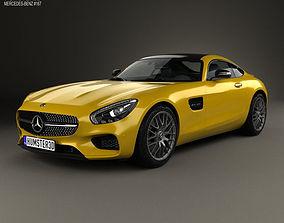 3D model Mercedes-Benz AMG GT 2014