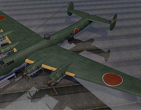 3D model Nakajima G5N2 Shinzan - aka Liz