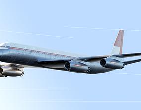3D model Mcdonnel Douglas DC-8