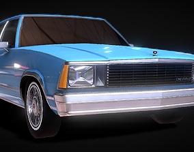 low-poly Chevrolet Malibu Classic 3D Model