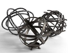 3D Sphere Sculptures