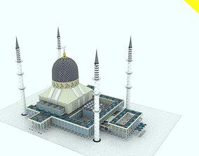 Masjid Sultan Salah Eddine Of Malasia 3D